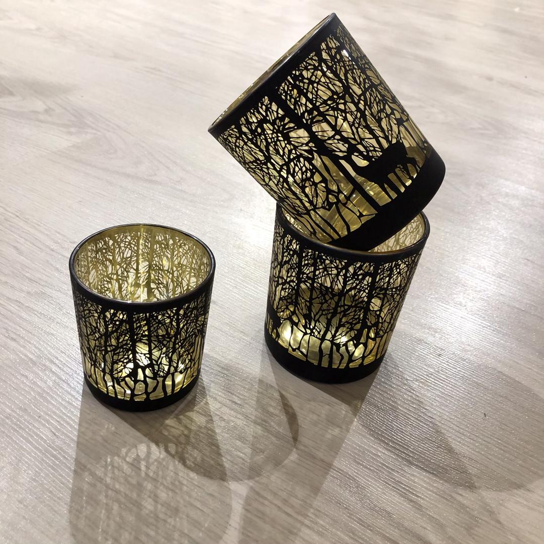 Teelichthälter 'Schwarzes Wald' - ab € 4,90