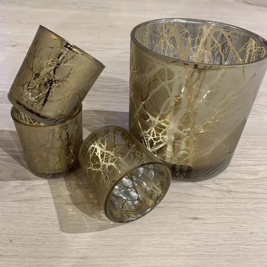 Teelichthälter 'Goldene Zweige' - ab € 4,90