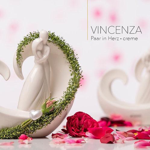 Herz 'Vincenza' mit Paar