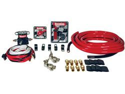 QUICKCAR SHORT TRACK WIRING KIT-black or checkered
