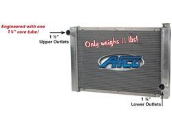 AFCO Radiator Chevy - Wide Single Row