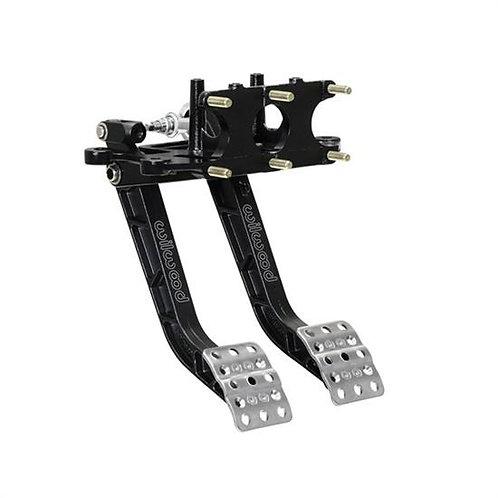 Wilwood Tru-Bar 340-15073 Reverse Mount Pedal Assembly, Black