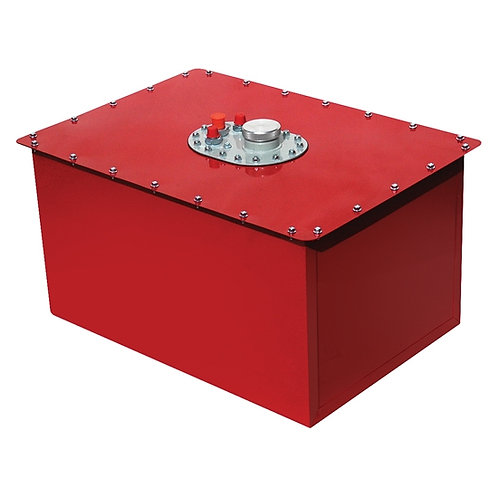 RCI 26 Gallon Red Fuel Cell, 25 x 17 x 17, w/ Tip Over Valve