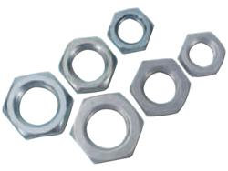 """Jam Nuts LW- 3/4"""" thread-- 15/16 inch o.d. wrench style"""