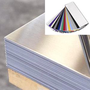 5x12 Gloss Black on Gloss Black Aluminum-call us for ordering