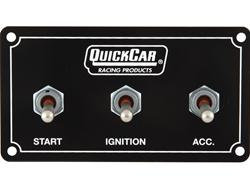 Quickcar Extreme Ignition Panel - 1 Acc Switch