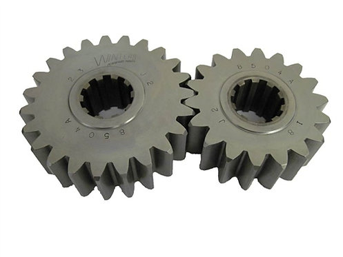 Quick Change Gears: Winters FIRST 30 gears on chart in order.