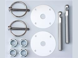 Hood Pin Kit - Flip Over - Choose color in cart