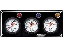 QuickCar 3 Gauge Panel - OP/WT/OT