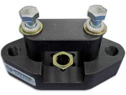 Wehrs 3-Hole Panhard Bar Frame Mount - 2""