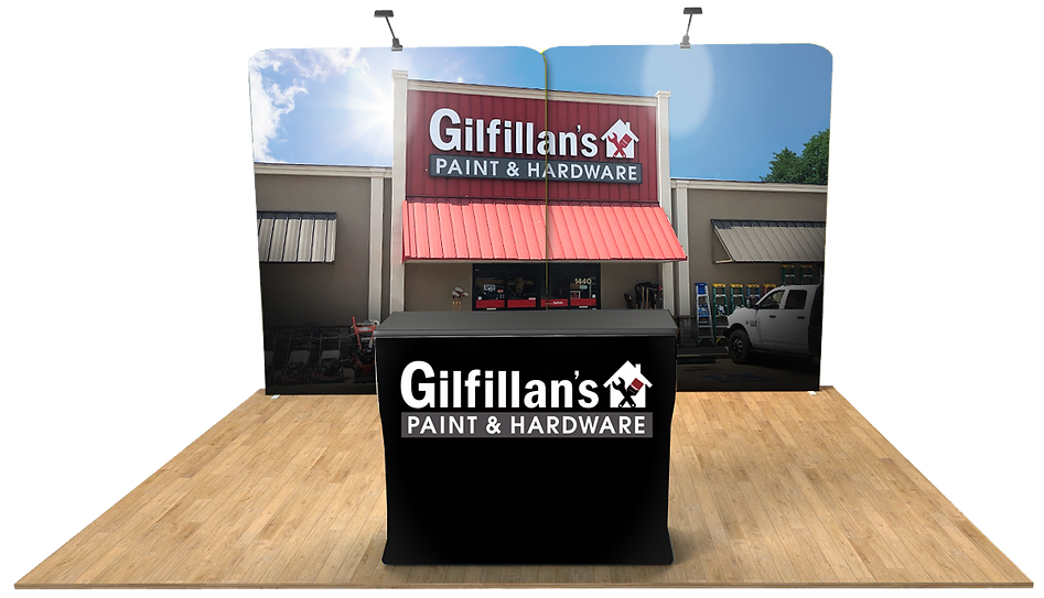 Virtual Booth - Gilfillans Paint and Har