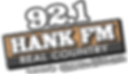 921 HANK FM - Color2 White Numbers - BOL