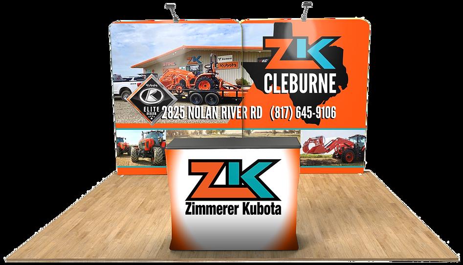 Virtual Booth - Zimmerer Kubota Cleburne