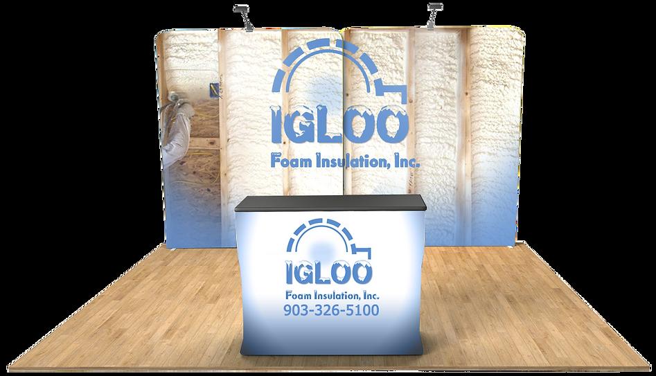 Virtual Booth - iGloo Foam Insulation CO