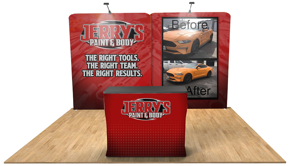 Virtual Booth - Jerrys Paint and Body CO