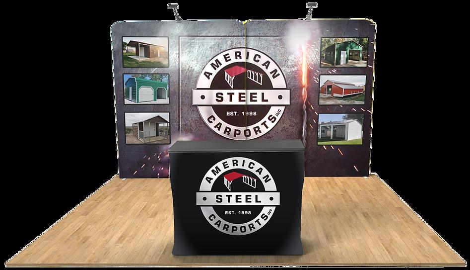 Virtual Booth - American Steel Carports