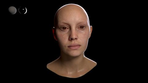 Skin shader study