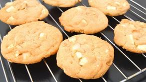 Cookie de Nozes Pecan e Chocolate