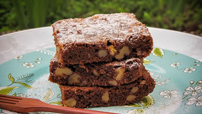 Brownie de Chocolate com Nozes Pecan