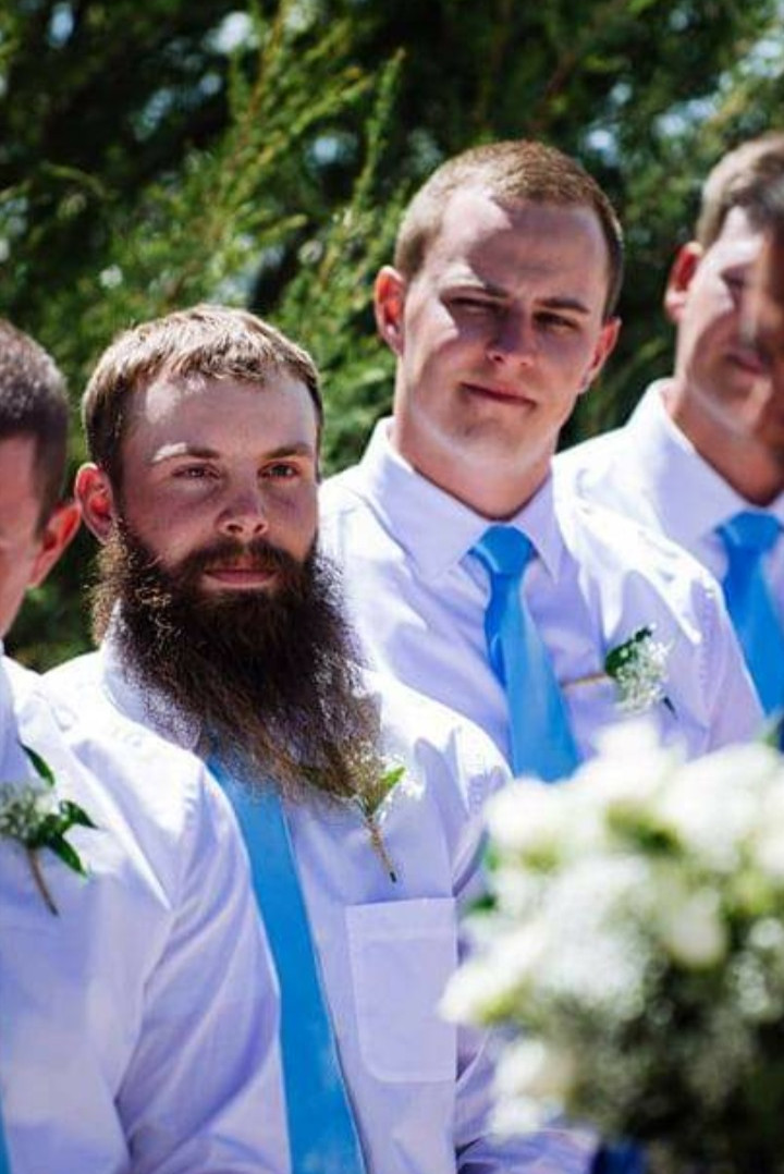 37. Weston at wedding