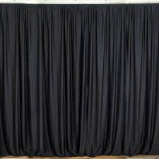 BLACK Velour stage panels