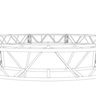 "20.5"" x 20.5"" 30' Circle Truss (BOLTED)"