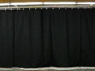 BLACK Duvetene stage panels