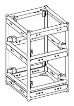 "Series 8 48x24 Sleeveblock for 20.5"" self climbing tower"
