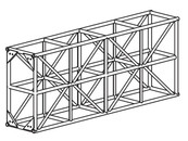 Series 8 EXTRA HEAVY DUTY TRUSS (BOLTED)
