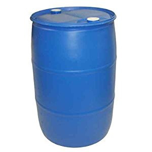 55 Gallon PLASTIC DRUM up to 425 LBS ballast