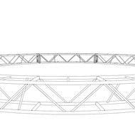 "20.5"" x 20.5"" 40' Circle Truss (BOLTED)"