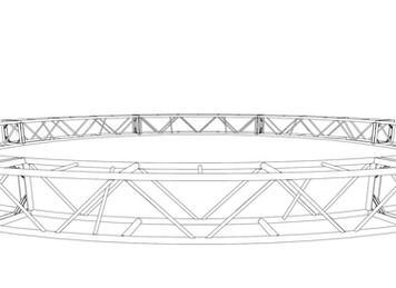 """20.5"""" x 20.5"""" 40' Circle Truss (BOLTED)"""