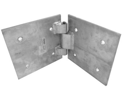 "12"" Box Truss Bookend Hinge Silver"