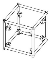 "30"" x 30"" Sleeve for 20.5"" tower (BOLTED)"