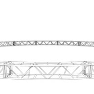 "20.5"" x 20.5"" 50' Circle Truss (BOLTED)"