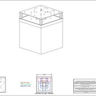 STEEL TOP 1/2 LEGO 2600 LBS BALLAST