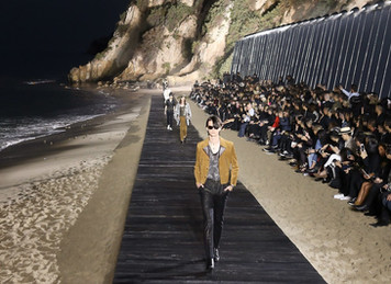ST. LAURENT BIG MALIBU  FASHION SHOW