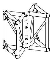 20x30 art hinge