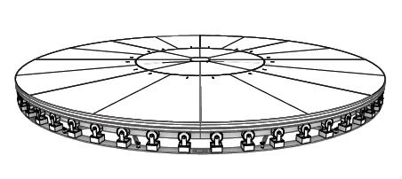 20' turntable