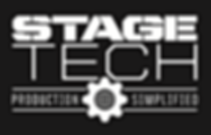 Stage-tech logo black