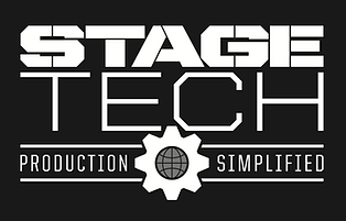 Stage-tech logo black