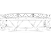 "20.5"" x 20.5"" 20' Circle Truss (BOLTED)"