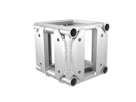 "12"" Box Truss Corner block Silver"