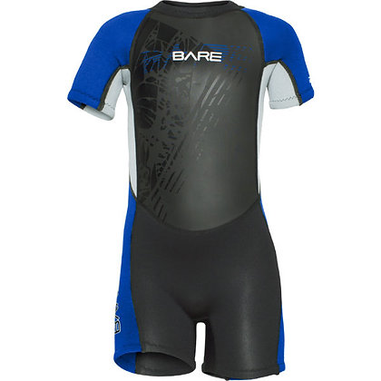 Bare 2MM Tadpole Shorty Wetsuit Kids