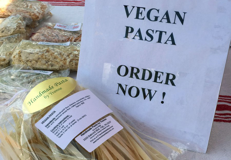 Vegan Pasta by Yvonne