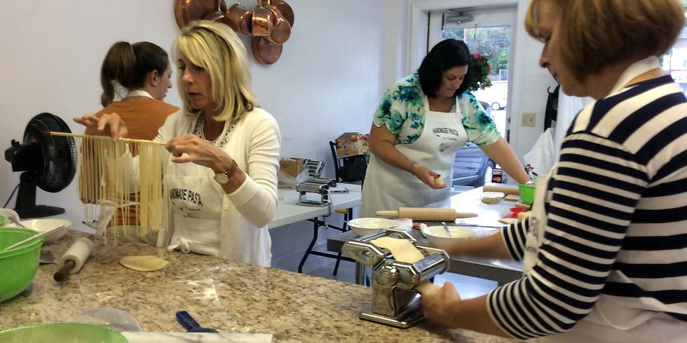 Basic Pasta Making Classu