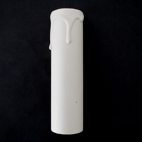 Ivory Candle Tube 100mm high