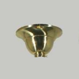 """Polished Brass Ceiling Canopy 1/2"""""""