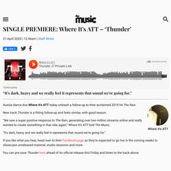 The Music - Thunder