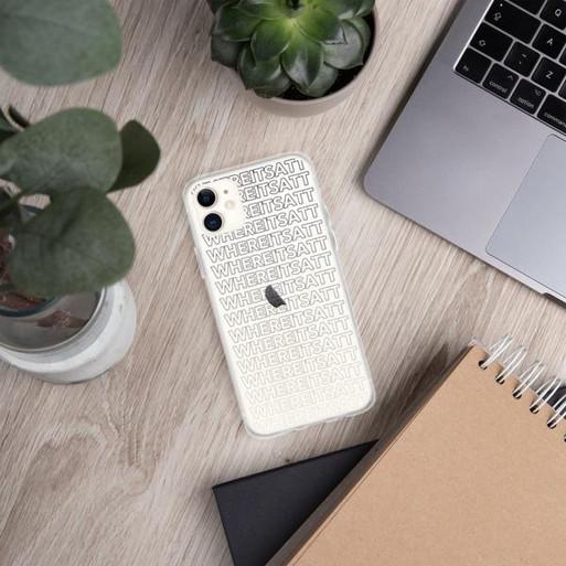 Where It's ATT iPhone Case - Black